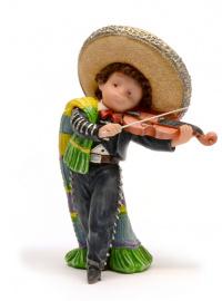 Статуэтка Nadal 746858 Mariachi violinista -Скрипка Марьячи