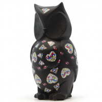 Статуэтка Nadal 763211 Owl Black (Черная Сова)