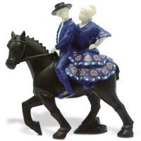 Статуэтка Nadal 763419 Pareja a caballo