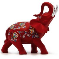 Статуэтка Nadal 763610 Слон Красный