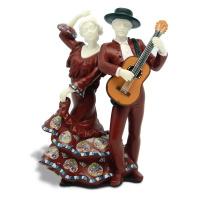 Статуэтка Nadal 763620 Pareja guitarra (Пара с гитарой)